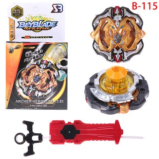 Beyblade burst B-115 starter set with launcher grip kids gift toys