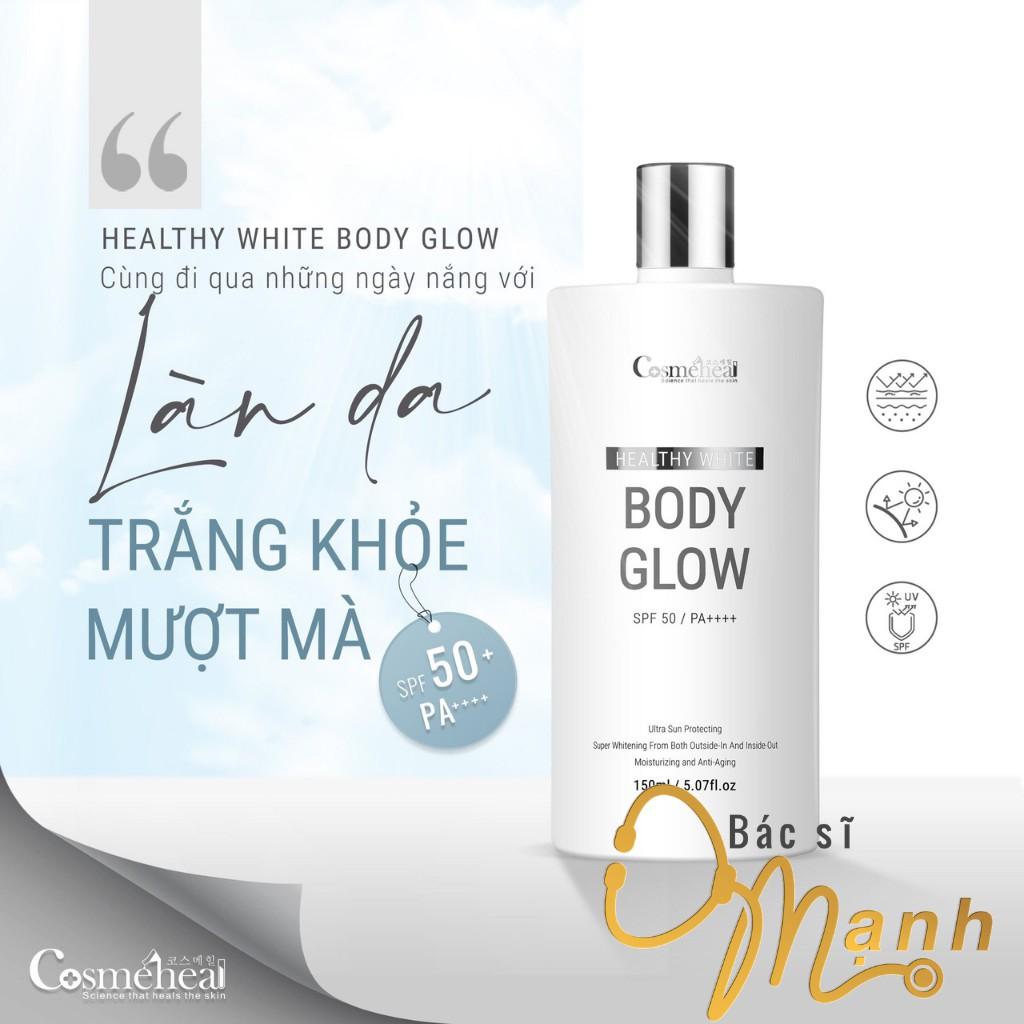 Serum Dưỡng Trắng Da Toàn Thân Healthy White BodyGlow COSMEHEAL (150 ml)