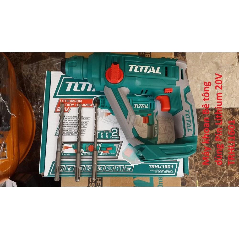 Máy khoan bê tông dùng pin Lithium total TRHLI1601 - 14329093 , 2317892267 , 322_2317892267 , 1060000 , May-khoan-be-tong-dung-pin-Lithium-total-TRHLI1601-322_2317892267 , shopee.vn , Máy khoan bê tông dùng pin Lithium total TRHLI1601