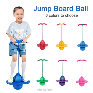 Fun Fitness Exercise Non Slip Kids Children Indoor Outdoor Energetic Jumping Toy Explosion Proof Jump Board Ball
