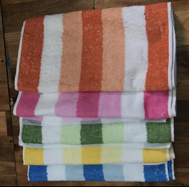 combo 5 cái khăn 9 tấc sọc