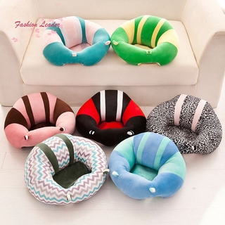 Baby Support Seat Plush Soft Baby Sofa Infant Learning To Sit Chair Comfortable