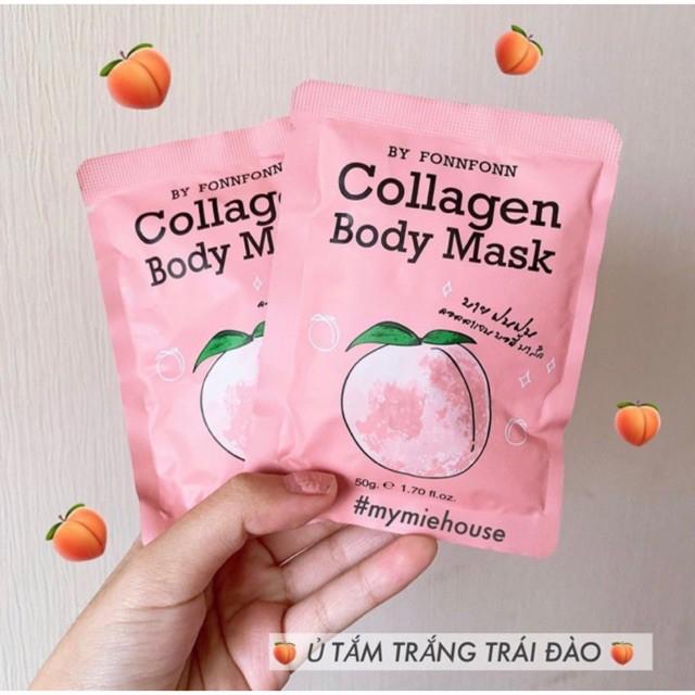 Ủ trắng đào collagen body chính hãng thái lan