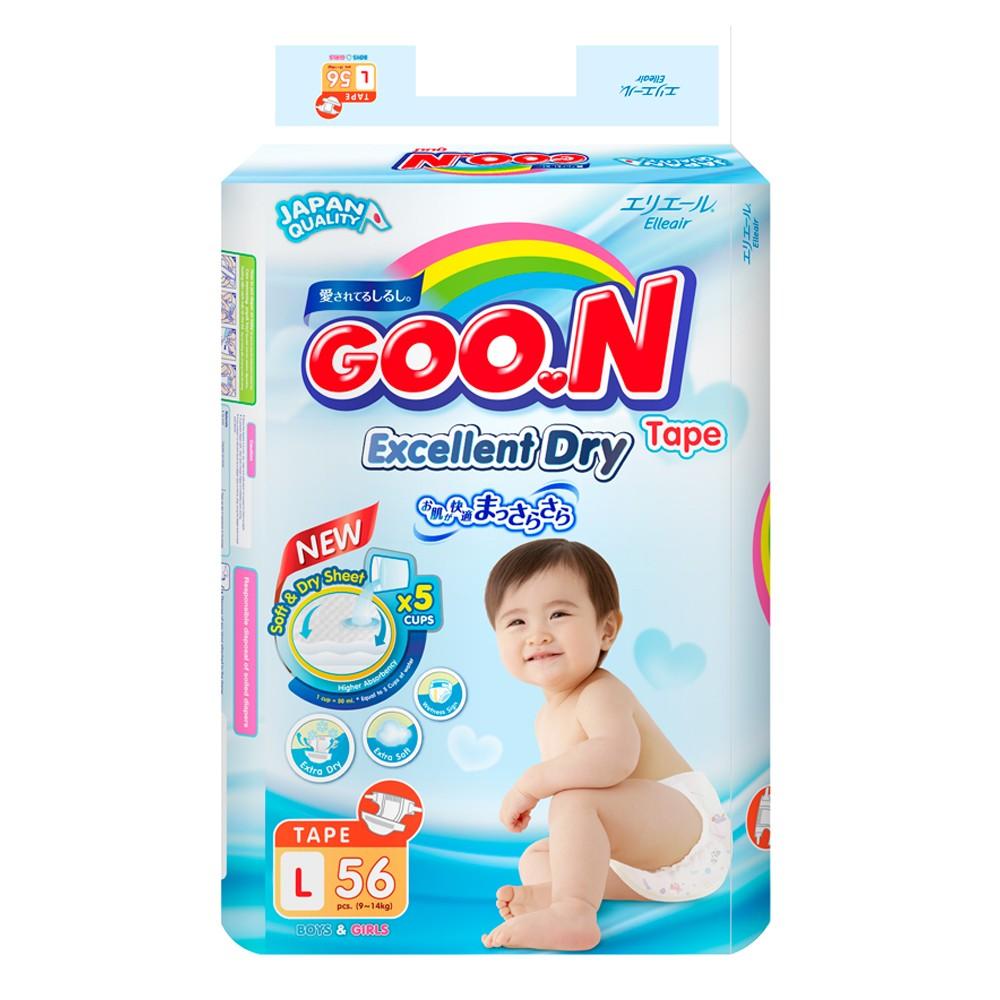 (225K_CLASS17 giảm 10%)_Tã dán Goon (Thái) L56