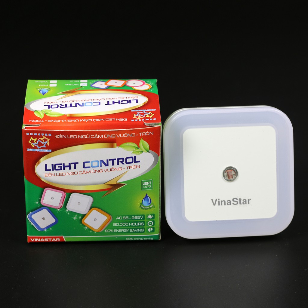 Đèn ngủ cảm ứng tự động bật tắt khi trời tối sáng Vinastar - 2757496 , 940142106 , 322_940142106 , 40000 , Den-ngu-cam-ung-tu-dong-bat-tat-khi-troi-toi-sang-Vinastar-322_940142106 , shopee.vn , Đèn ngủ cảm ứng tự động bật tắt khi trời tối sáng Vinastar
