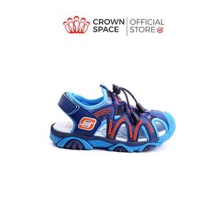 Giày Xăng Đan Bít Mũi Cho Bé Trai Đi Học Đi Chơi Chính Hãng Crown UK Active Sandals CRUK803 Nhẹ Êm Size 26-35 4-14 Tuổi thumbnail