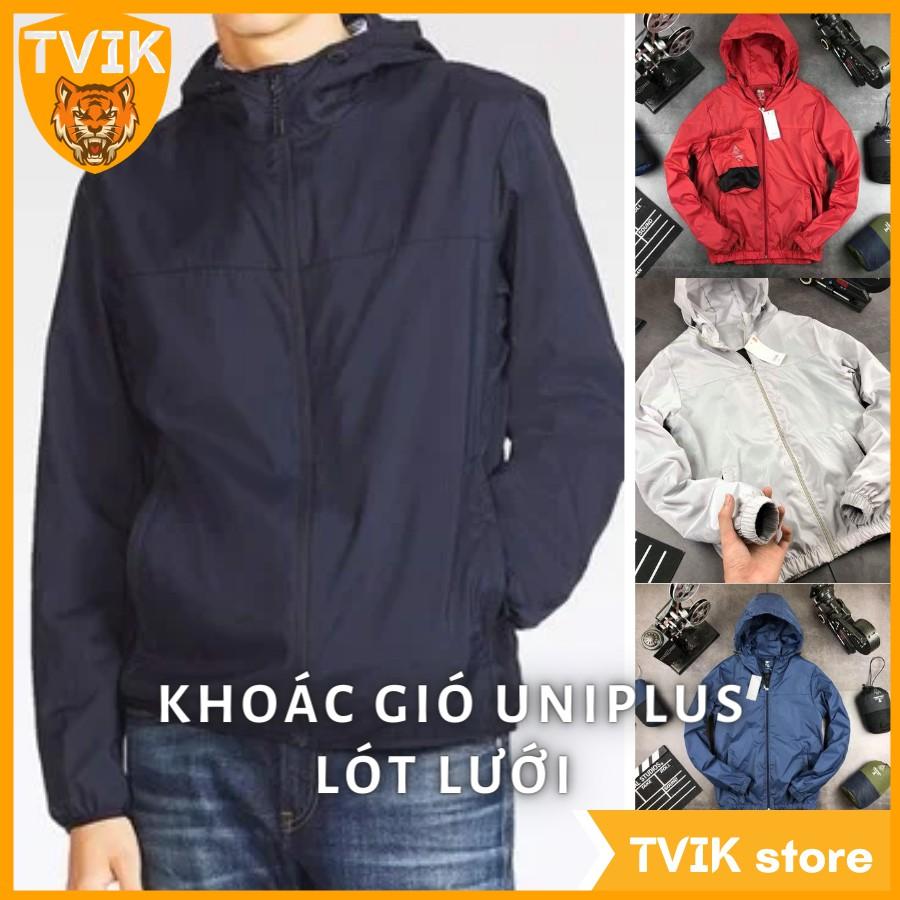 [XẢ LỖ] Áo khoác gió hai lớp chống nước nhẹ, mặc được cho cả nam và nữ, full size đến 90kg - 3KGU