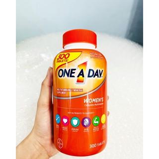 One A Day cho nữ từ 18-49 tuổi, chai 300 viên thumbnail