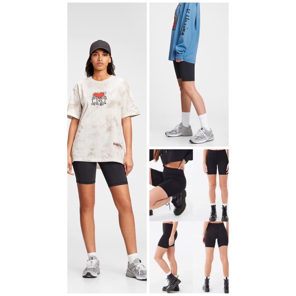 Quần legging lửng xuất dư Spalding, form trẻ trung, năng động, quyến rũ