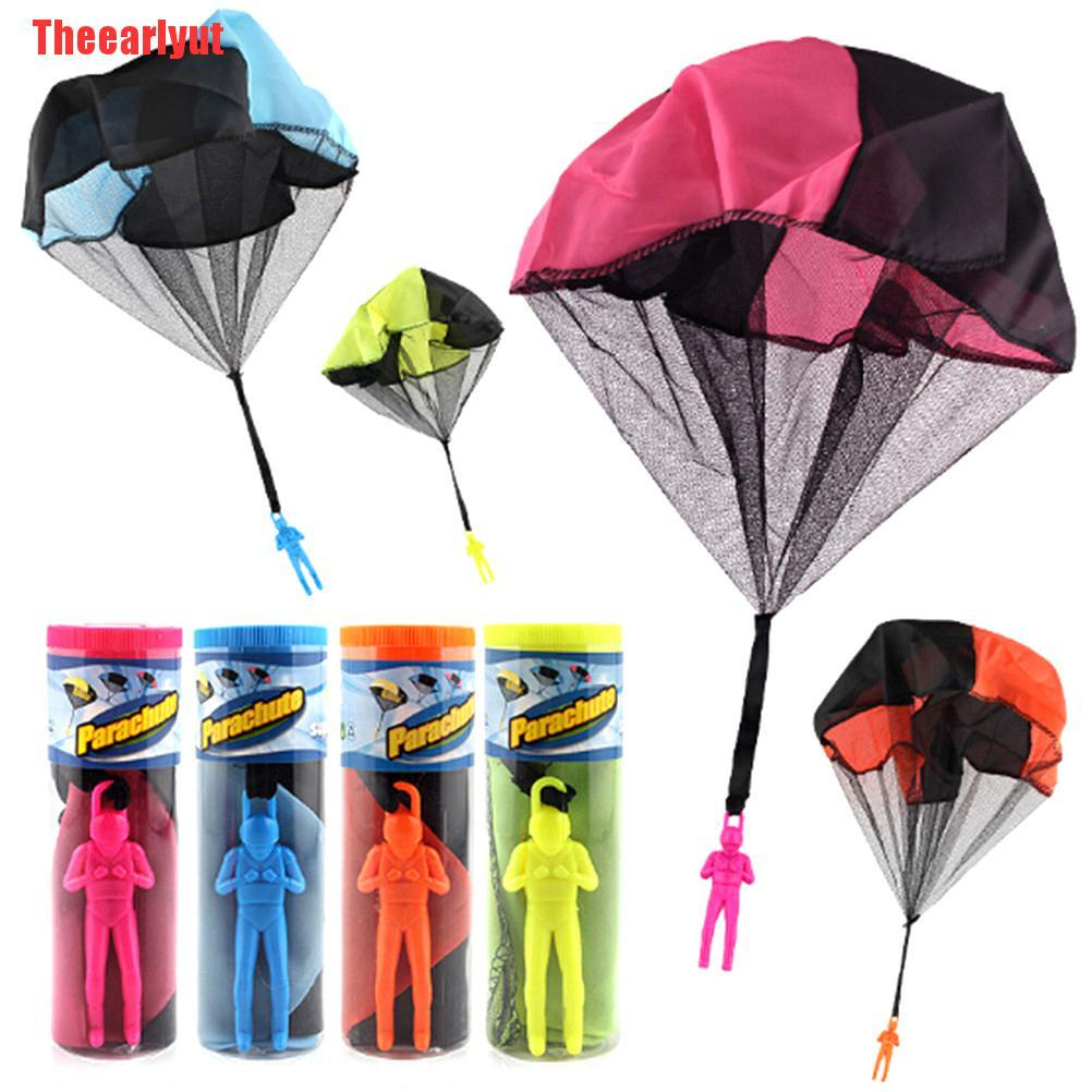 Theearlyut Popular Mini Parachute soldier toy Outdoor Sports Kids Educational Gift Toys 0 0 0 0 0