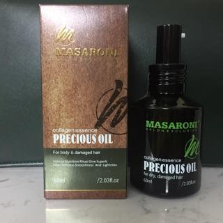 TINH DẦU DƯỠNG TÓC MASARONI ARGAN PRECIOUS OIL 60ML thumbnail