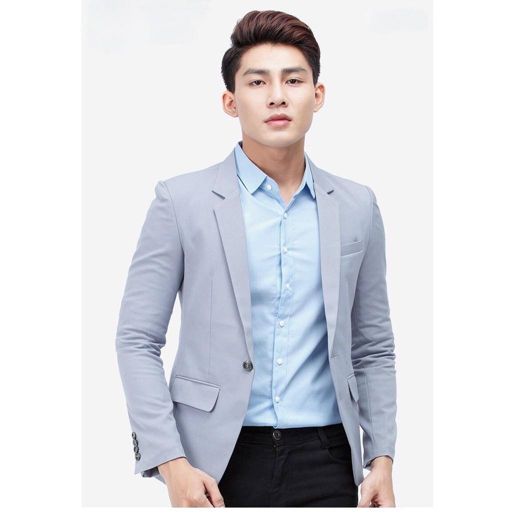 Áo vest nam cao cấp AVN24 ( Xám xanh )