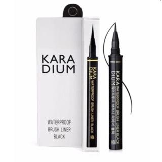 Bút dạ Kẻ Mắt Karadium Waterproof Brush Liner Black thumbnail