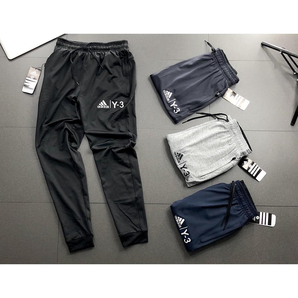 [Hàng Hịn] Quần Jogger Y 3 Vải Xuất Dư - Full te