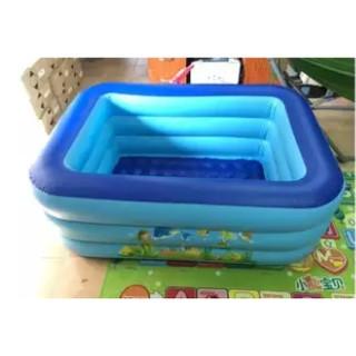 Bể phao bơi 3 tầng cho bé size 125x85x45cm