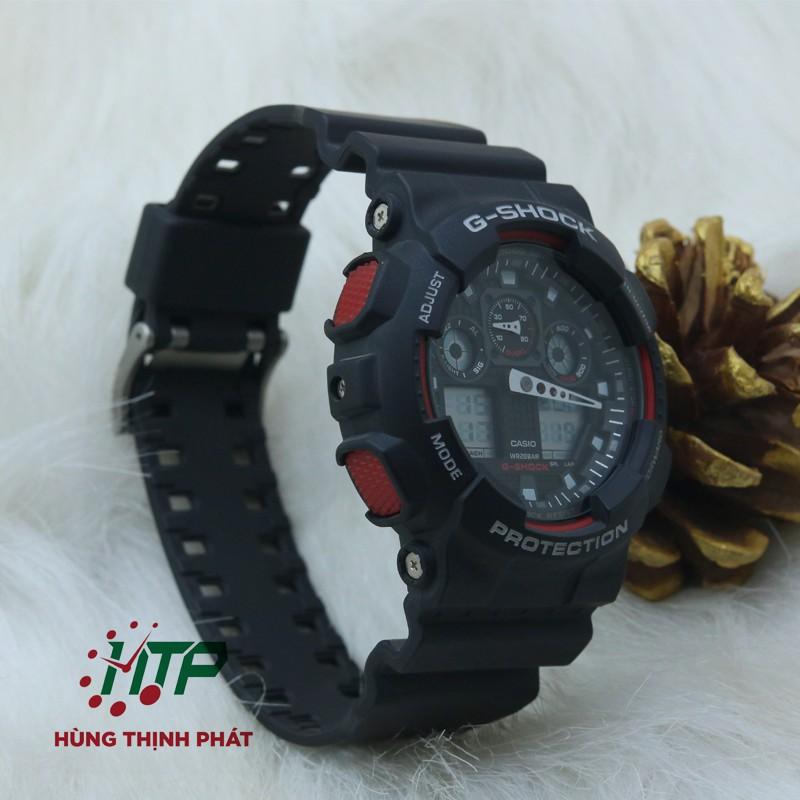 Đồng Hồ Nam Casio G-Shock GA-100-1A4DR ( 55mm x 51.2mm )