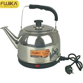Ấm siêu tốc inox 5L Fujika FJ-SD50 không rỉ, tự đun lại khi nước nguội