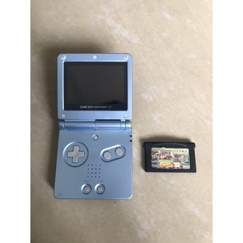 Máy chơi game Nintendo Gameboy SP 4 đèn kèm băng nhiều trò