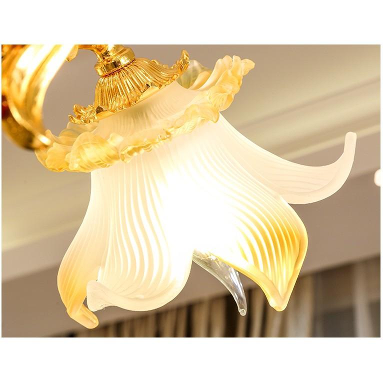 Đèn chùm KAIRINA 15 tay phong cách Châu Âu hàng chuẩn đẹp - kèm bóng LED chuyên dụng (ảnh thật 100%)