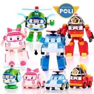 [mã COTAMTOY1 giảm 15k] Biệt đội RoboCar Poli biến hình