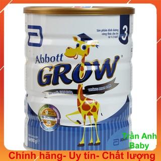 Sữa bột Abbott Grow 3 hươu cao cổ 900g date mới thumbnail