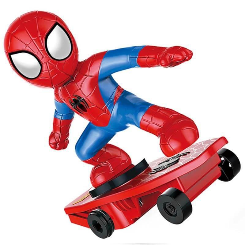 Đồ chơi người nhện trượt ván có điều khiển SP057