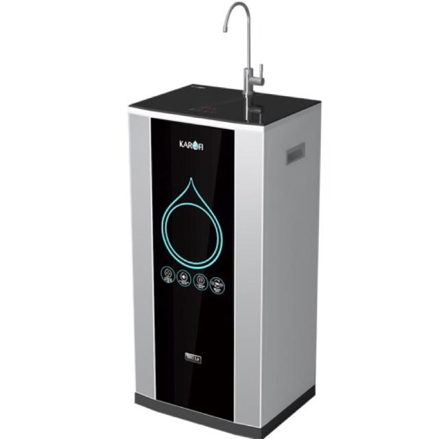 Máy lọc nước thông minh iRo 2.0 , 7 cấp, bình áp nhựa lõi thép tủ IQ
