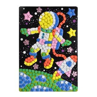Children Kids DIY 3D Mosaic Sticker Educational Toy Art Sticky Handmade Set