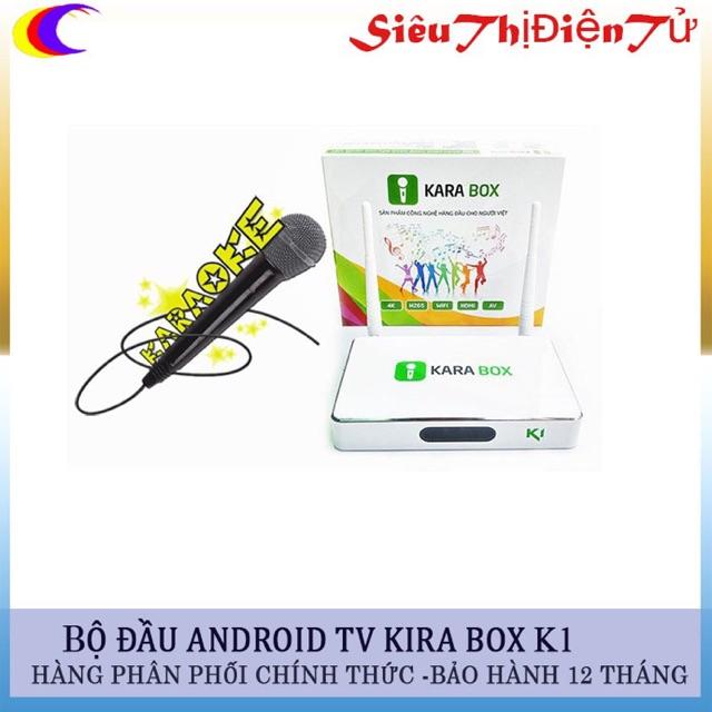 Đầu thu android tv box karabox k1