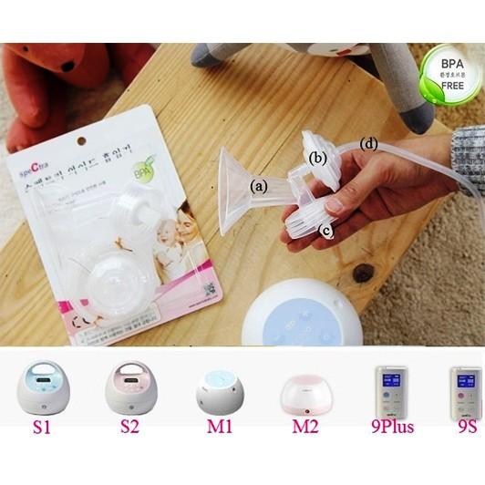 Bộ phụ kiện Spectra cổ rộng phụ kiện dùng kèm cho máy hút sữa điện Hàn Quốc - 2548382 , 306162144 , 322_306162144 , 350000 , Bo-phu-kien-Spectra-co-rong-phu-kien-dung-kem-cho-may-hut-sua-dien-Han-Quoc-322_306162144 , shopee.vn , Bộ phụ kiện Spectra cổ rộng phụ kiện dùng kèm cho máy hút sữa điện Hàn Quốc