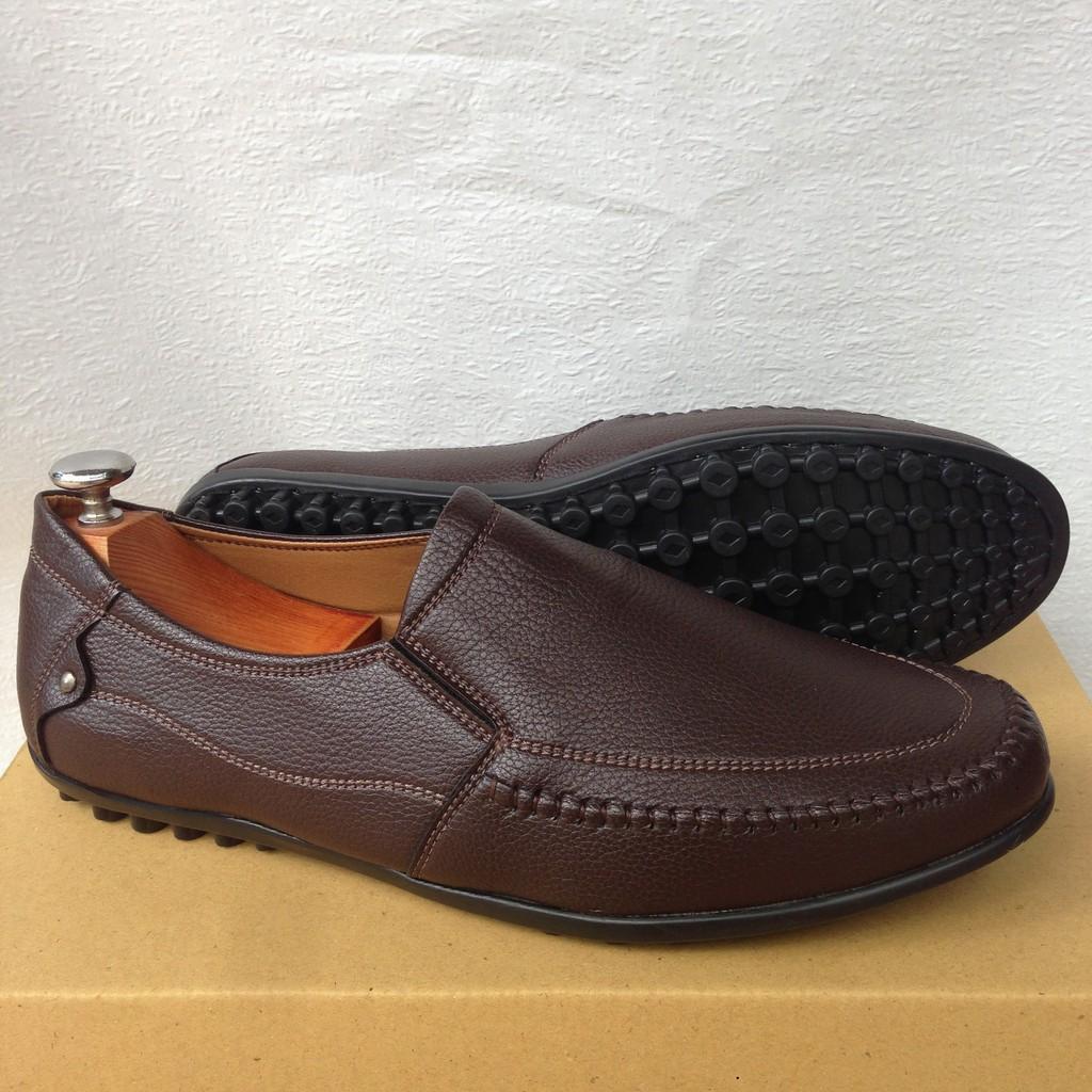 Giày mọi nam màu nâu đất GN30