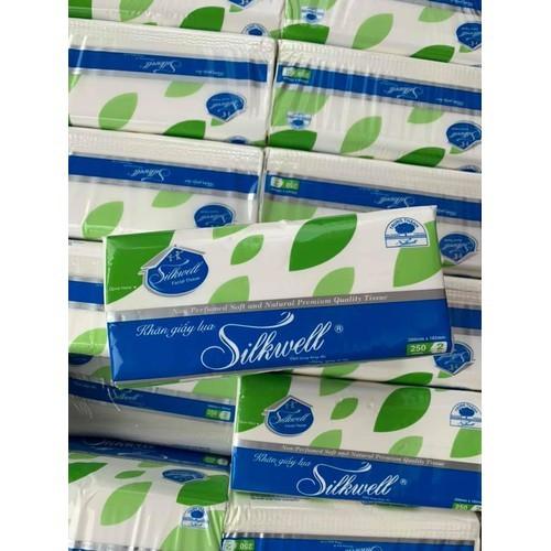 Khăn giấy lụa Silkwell 250 tờ