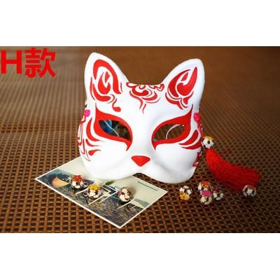 Mặt nạ cáo vẽ_15 (Mask fox-cosplay) rẻ như cho