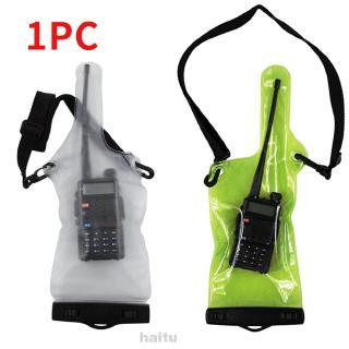 Túi đựng bộ đàm 2 chiều bằng PVC chống bụi và nước mưa có dây đeo