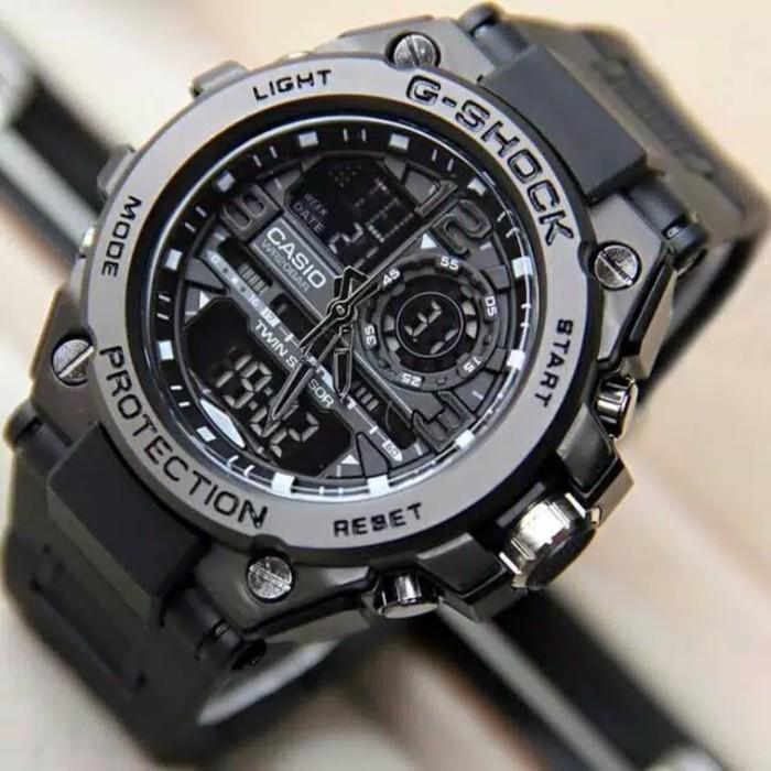 Đồng hồ nam siêu chất Casio G-shock  GTS 8600 Original –Chống nước 20Bar Viền Thép không gỉ, Nam tính, 45mm