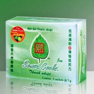BỘT SỦI THANH NHIỆT SENSACOOL (Hộp 6 gói)