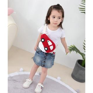 Túi đeo chéo hình ô tô cho bé trai và bé gái