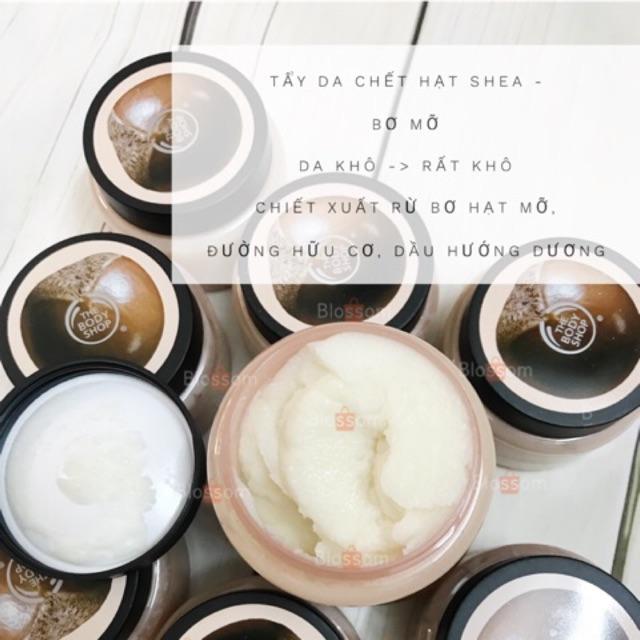 [đủ loại] TẨY DA CHẾT SHEA hạt bơ mỡ cho da khô, nhạy cảm the body shop - 815621,322_815621,340000,shopee.vn,du-loai-TAY-DA-CHET-SHEA-hat-bo-mo-cho-da-kho-nhay-cam-the-body-shop-322_815621,[đủ loại] TẨY DA CHẾT SHEA hạt bơ mỡ cho da khô, nhạy cảm the body shop
