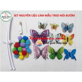 Set nguyên liệu làm mẫu treo nôi bướm lượn