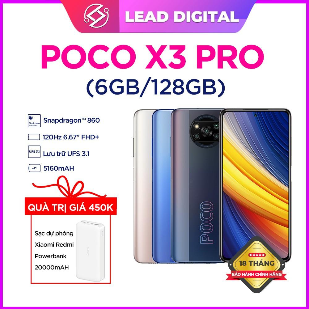 Điện Thoại Xiaomi POCO X3 NFC 6GB/64GB - Hàng Chính Hãng - Mới Nguyên Seal 100% - Bảo Hành Điện Tử 18 tháng