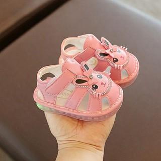 Giày thỏ tập đi cho bé gái size 15