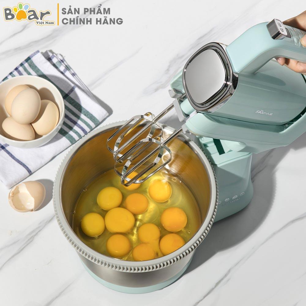 Máy đánh trứng để bàn - Máy đánh trứng đa năng Bear DDQ-B03V1 (HÀNG CHÍNH  HÃNG)