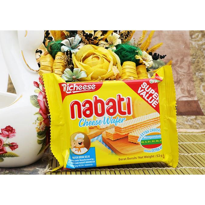 Bánh kem xốp phô mai Richeese Nabati gói 52g - 2530648 , 584256851 , 322_584256851 , 9000 , Banh-kem-xop-pho-mai-Richeese-Nabati-goi-52g-322_584256851 , shopee.vn , Bánh kem xốp phô mai Richeese Nabati gói 52g