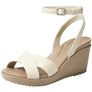 Giày sandal Leigh II wedge - hàng auth.