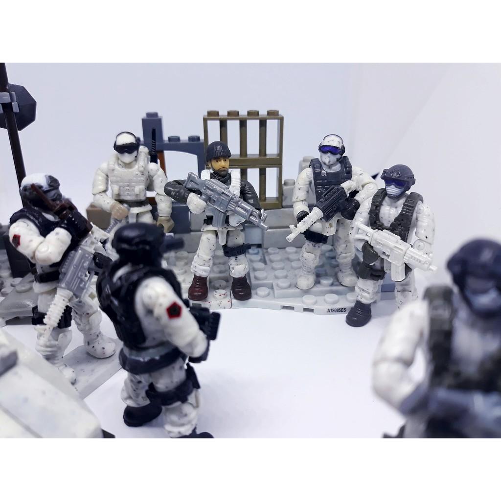 Mega Bloks Call of Duty nhân vật bán lẻ , hàng thật 100% !!!!