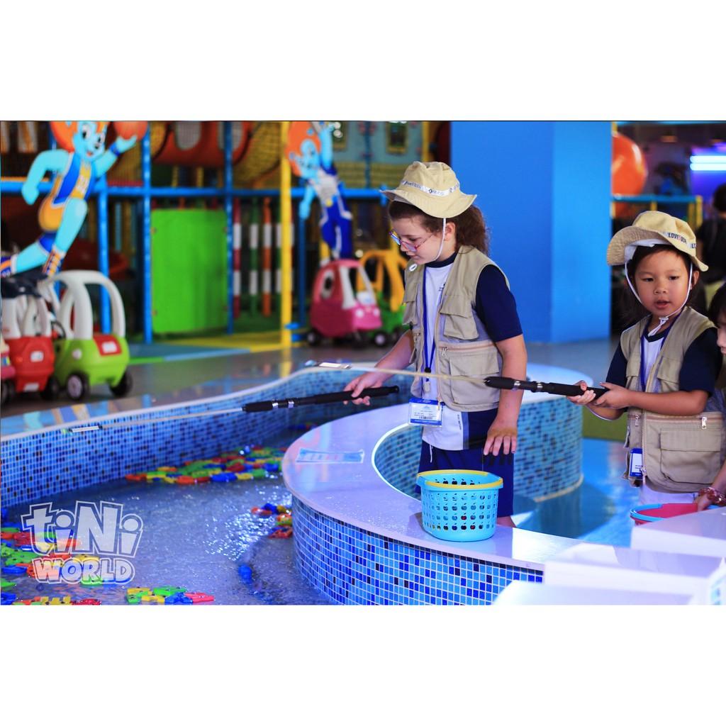 [Toàn quốc] Combo 3 vé vui chơi giải trí tại tiNiWorld giảm giá sốc tới 50% - Áp dụng cả cuối tuần v