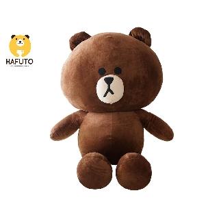 Gấu Brown HAFUTO khổ vải 1m màu socola