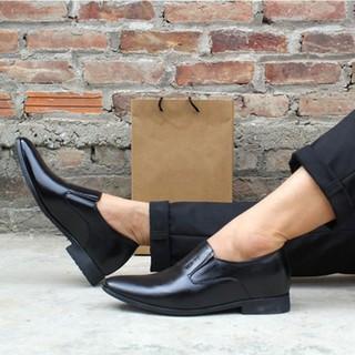 Giày da lười công sở đế tăng chiều cao bí mật 6.5cm – GL70