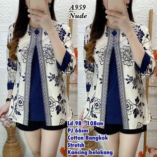 Áo blouse thời trang nhập khẩu Kd8727 BKK A959 Cool