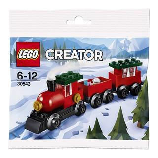 LEGO CREATOR 30543 (66 chi tiết) – Bộ Lắp Ráp LEGO Tàu Lửa Lễ Hội Chính Hãng Đan Mạch